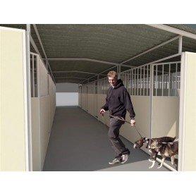 Residencia canina abierta