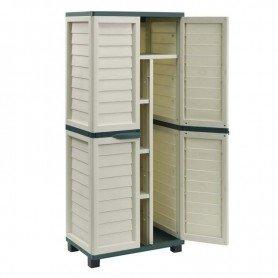 Armario de jardin Gardiun Cabinet resina 75x52x180