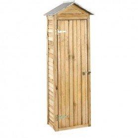 Armario de jardin de madera Erra