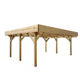 Carport de madera Evolution 2