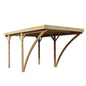 Carport de madera Evolution