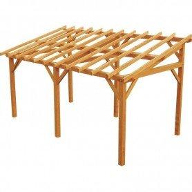 Carport de madera Vanoise con autoclave