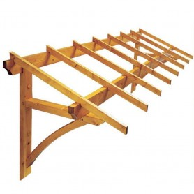 Tejadillo de madera Firenze
