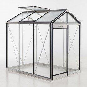 Invernadero Piccolo 3, marco aluminio y cristal