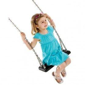 Asiento de caucho comercial con cadenas