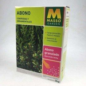 Abono coniferas y ornamentales Massó 2 kg