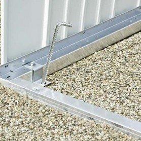 Marco de suelo de aluminio