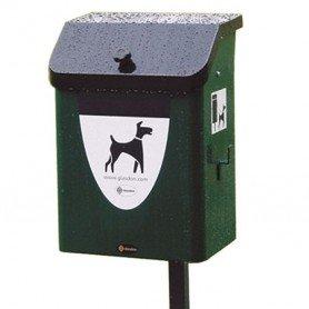Papelera canina para circuito canino