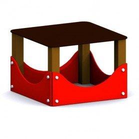 Mesa para circuito canino