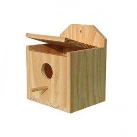 Nidos exoticos madera 15x13x18 cm