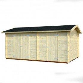 Cobertizo de madera Palmako Jari 8,9 m2