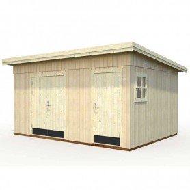 Cobertizo de madera Palmako Kalle 13,7 m2