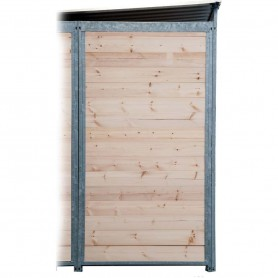 Panel de madera para boxes de perros