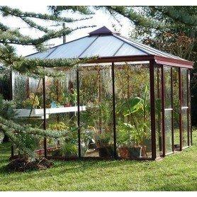 Invernadero bienestar cuadri 3.09x3.09 y 9.5 m2