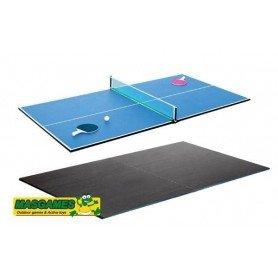 Mesa de ping pong comedor sin patas