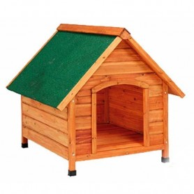 Caseta madera techo 2 aguas