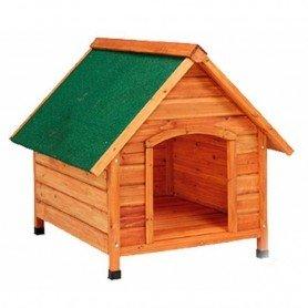Caseta madera techo 2 aguas grande