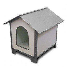 Caseta de perros Ancares galvanizada