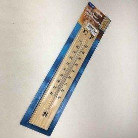 Termómetro madera 40 x 7 cm