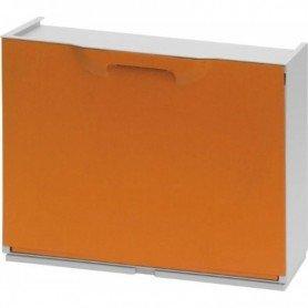 Zapatero de plastico Naranja