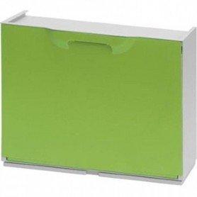 Zapatero de plastico Verde