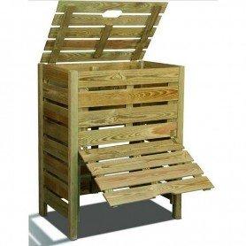 Compostador de madera 400 litros