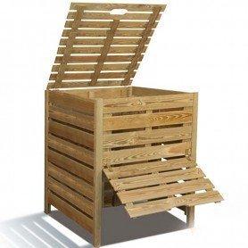 Compostador de madera 800 litros