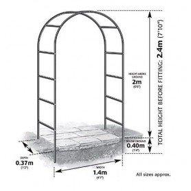 Arco Sencillo 2x1,4m