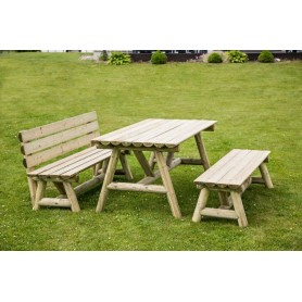 Mesa picnic Aldo de Palmako