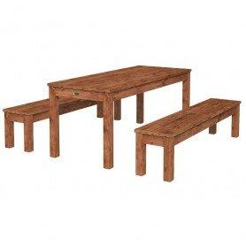Mesa con bancos Sanne 18 de Palmako