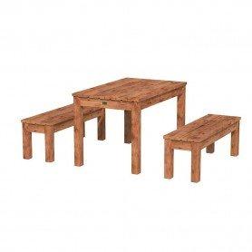 Mesa con bancos Sanne 12 de Palmako