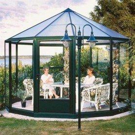 Invernadero bienestar circular 3m diametro y 7 m2