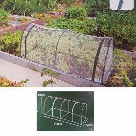 Invernadero plastico tipo tunel