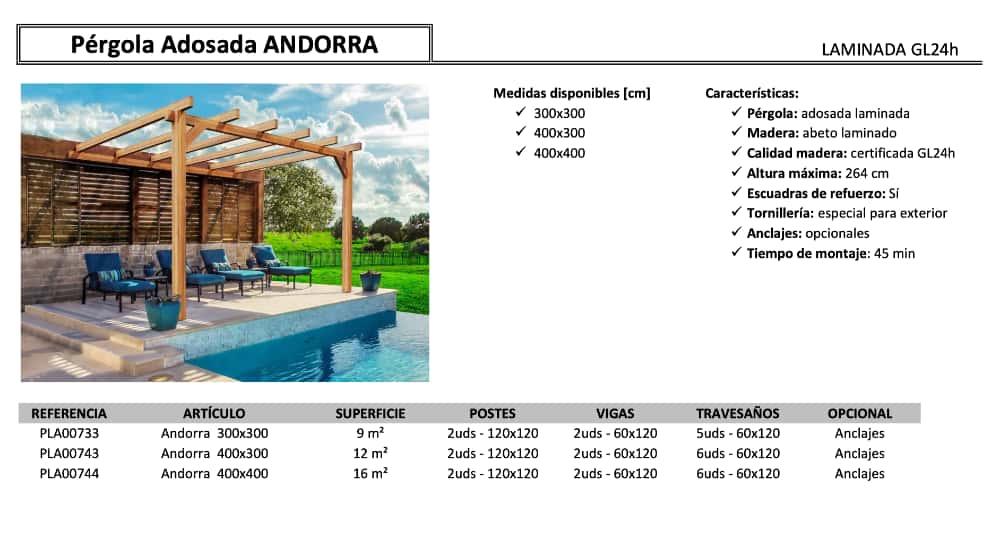 Pergola Andorra