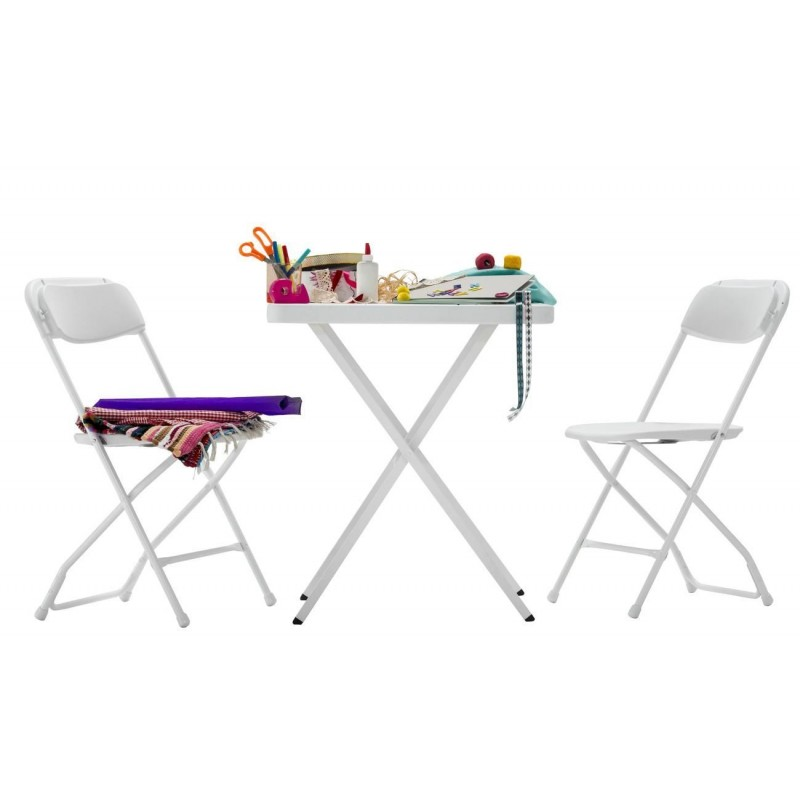 Set de silla y mesa plegable