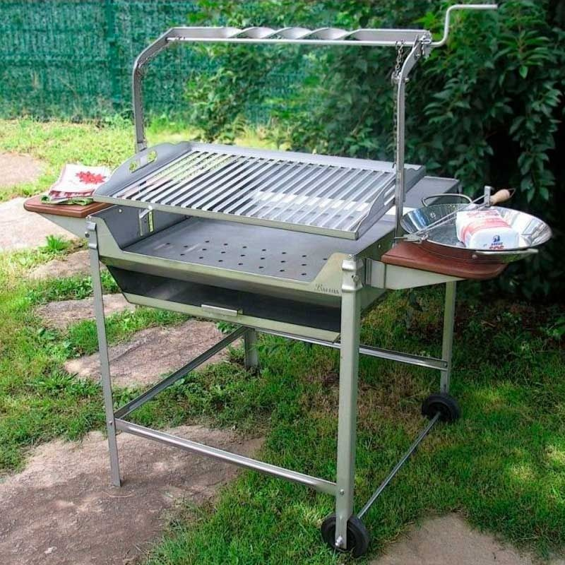 Barbacoa Inox Deluxe Plus 720