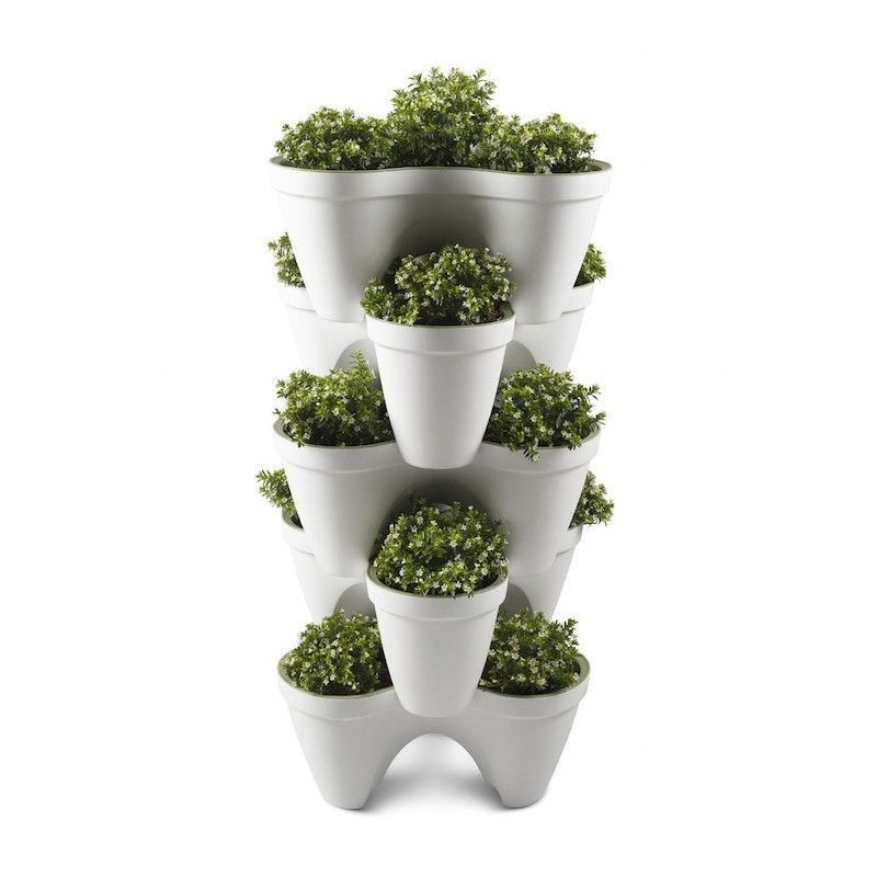 Macetero triple apilable IVY Planter